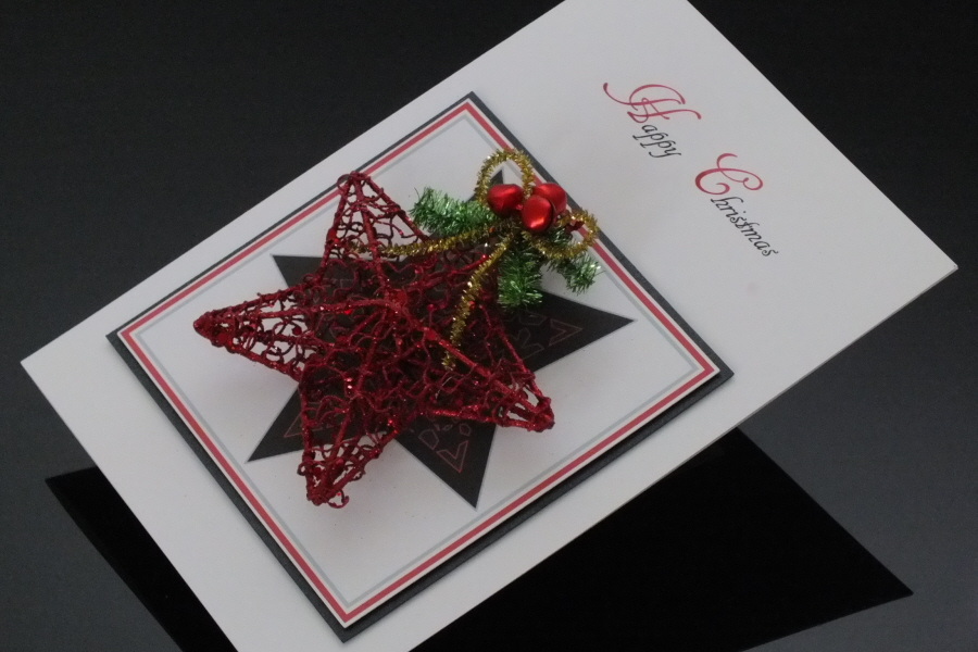 Personalised Luxury Handmade Christmas Card Delivered With Love
